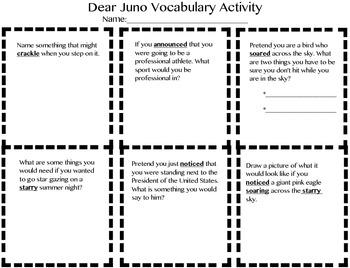 3rd Grade Treasures Dear Juno Pack