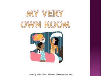 """3rd Grade Treasures """"My Very Own Room"""" Introductory PowerPoint"""