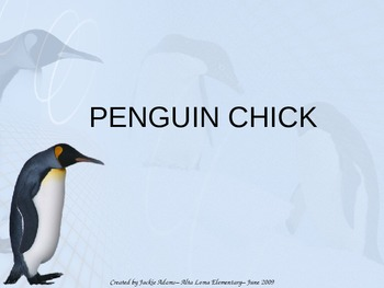 "3rd Grade Treasures ""Penguin Chick"" Introductory PowerPoint"