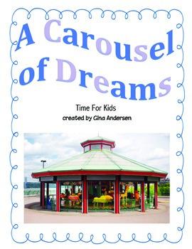 "3rd Grade Treasures Reading Unit 5 Week 3 ""A Carousel of Dreams"""