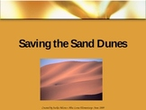 """3rd Grade Treasures """"Saving the Sand Dunes"""" Introductory PowerPoint"""