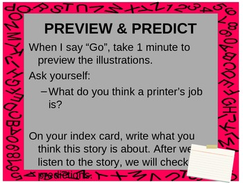 "3rd Grade Treasures ""The Printer"" Introductory PowerPoint"