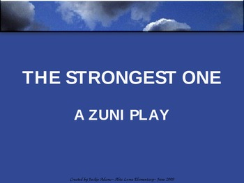 """3rd Grade Treasures """"The Strongest One"""" Introductory PowerPoint"""