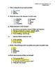 3rd Grade Treasures Unit VI Comprehension Questions (5 main stories/5 follow-up)