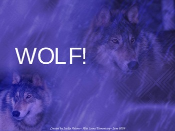 "3rd Grade Treasures ""Wolf!"" Introductory PowerPoint"