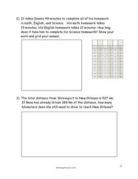Two- and Three- Digit Measurement Addition and Subtraction Quick Checks