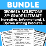 3rd Grade ULTIMATE Georgia Milestone Writing Bundle