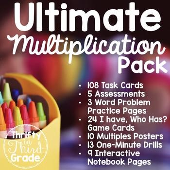 3rd Grade Ultimate Multiplication Pack