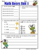 3rd Grade Unit 1 Everyday Math Review ~ Routines, Review and Assessments
