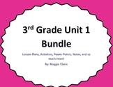 """3rd Grade Unit 1 """"Understanding Numbers"""" Bundle"""