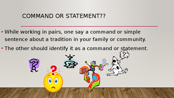 3rd Grade Unit 1 Week 2 Grammar Powerpoint