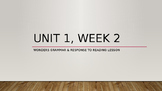 3rd Grade Unit 1 Week 2 Grammar Powerpoint