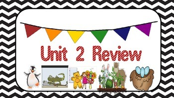 3rd Grade, Unit 2 CCR Test Review, Pearson Reading Street