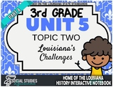 3rd Grade - Unit 5 - Topic 2 - Part A: Louisiana's Challenges