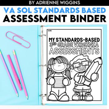 3rd Grade VA SOL Standards-Based Assessments Binder BUNDLE