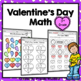 3rd Grade Valentine's Day Math Worksheets