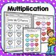3rd Grade Valentine's Day Math Worksheets