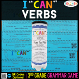 3rd Grade Verbs Game | Regular and Irregular Verbs, Simple