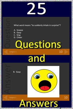 3rd Grade Virginia SOL Test Prep Reading Vocabulary Review Game #2