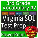 3rd Grade Virginia SOL Test Prep Reading Vocabulary Review Game #2