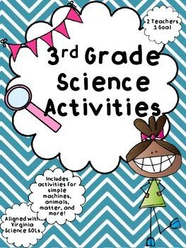 3rd Grade Virginia Science Activities