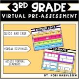 3rd Grade Virtual Math Pre-assessment