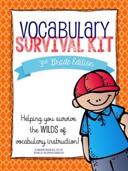 3rd Grade Vocabulary Survival Kit