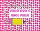3rd Grade Voice Level Posters