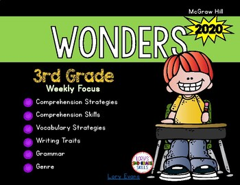 WONDERS 3rd Grade 2020 Scope and Sequence