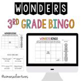 3rd Grade WONDERS 2017 Units 1- 6   Bingo Vocabulary Game for the SCHOOL YEAR!