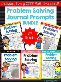 Problem Solving Journal Prompts BUNDLE