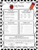 3rd Grade Warm Ups- Common Core Language Arts
