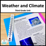 Weather and Climate Complete Unit NGSS 3-ESS2-1 3-ESS2-2 3-ESS3-1