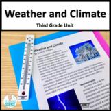 Weather Third Grade NGSS 3-ESS2-1 3-ESS2-2 3-ESS3-1