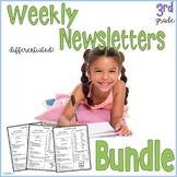 3rd Grade Weekly Newsletters