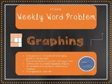 3rd Grade Weekly Word Problem Set on Graphing