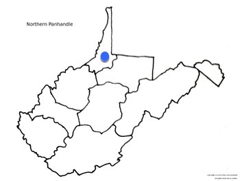 3rd Grade West Virginia History Studies/Counties and Tourism