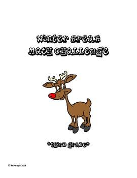 3rd Grade Winter Break Math Challenge