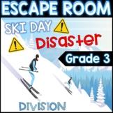 3rd Grade Winter Digital Escape Room Division Review DISTA