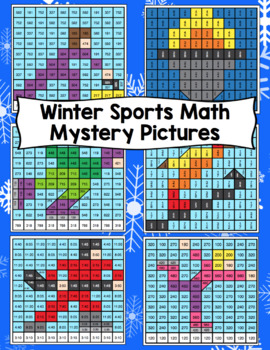 3rd Grade Winter Games Math: 3rd Grade Math Mystery Pictures