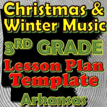 3rd Grade Winter Holidays Christmas Unit Lesson Plan Templ
