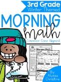 3rd Grade Winter Morning Work