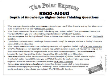 3rd Grade Winter Vacation Packet with The Polar Express Reading Activities