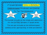 3rd Grade Wonders BUNDLE Units 1-6 Differentiated Vocabula