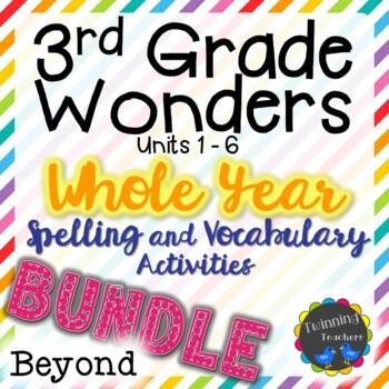 3rd Grade Wonders Beyond Lists BUNDLE