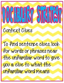 3rd Grade Wonders Focus Wall Posters Unit 1 Week 2