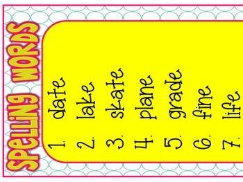 3rd Grade Wonders Focus Wall Posters Unit 1 Week 3