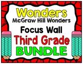 3rd Grade Wonders Focus Walls Bundle
