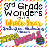 3rd Grade Wonders | Spelling and Vocabulary | MEGA BUNDLE