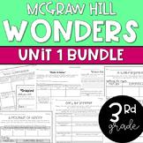 Wonders 2017 3rd Grade Unit 1 Reading Resources BUNDLE